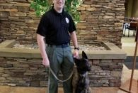K9 Unit Visits Camas Center